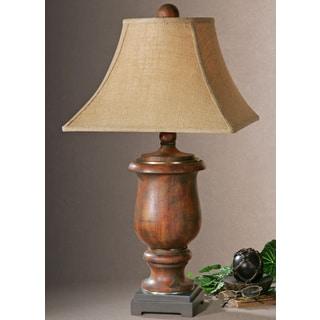 Uttermost Kezia Distressed Cinnamon Table Lamp