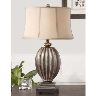 Uttermost Diveria Resin/ Metal Fabric Table Lamp