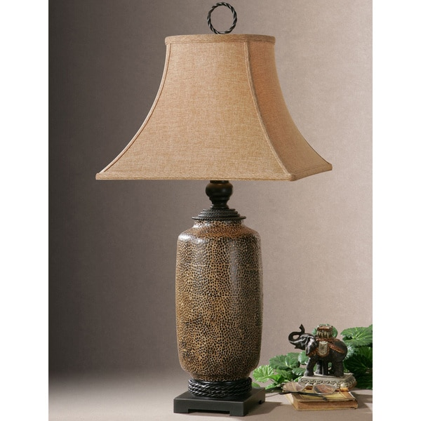 Uttermost Gravina Metal Ceramic/ Resin Table Lamp