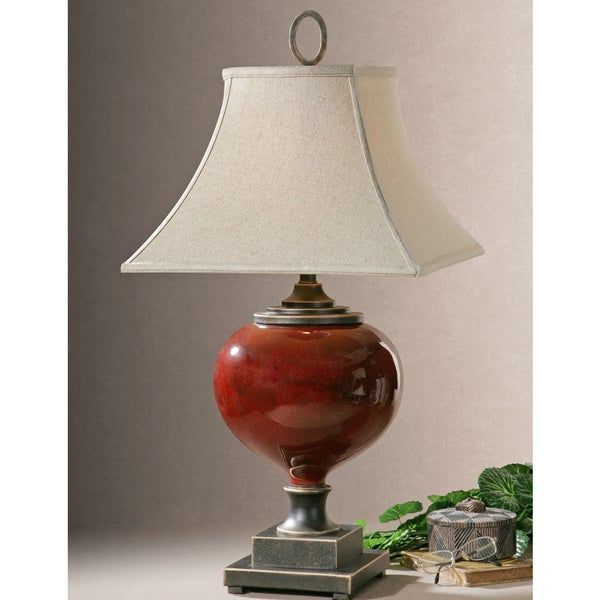 Uttermost Anka Metal/ Ceramic Table Lamp