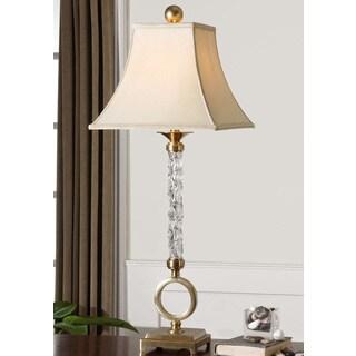 Uttermost Aversa Metal/ Glass Table Lamp