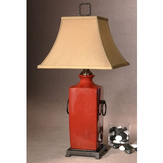 Uttermost Rocco Metal and Ceramic Table Lamp