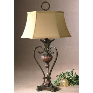 Uttermost Andra Metal and Polyresin Table Lamp