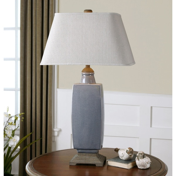 Uttermost Tilton Resin and Ceramic Table Lamp