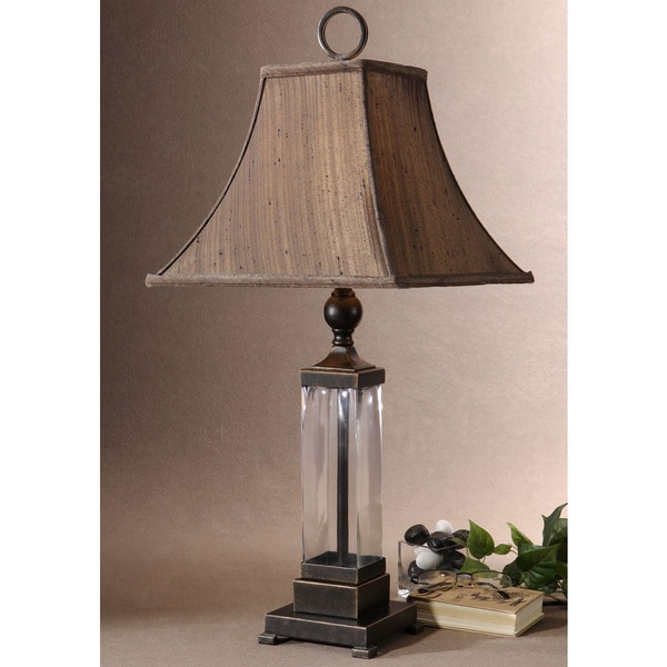 Uttermost Bartlet Metal/ Glass Table Lamp