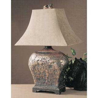 Xander Atlantis Bronze Resin/ Metal Table Lamp