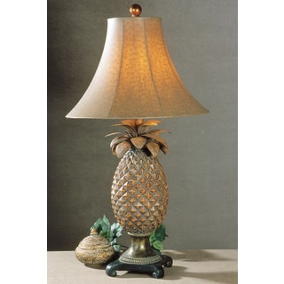 Anana Pineapple Resin/ Metal Table Lamp