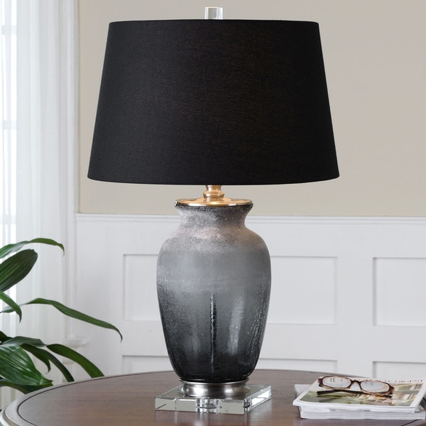 Uttermost Dionne Smoke Grey Table Lamp