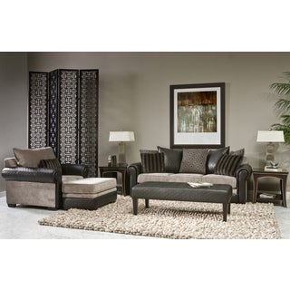 Genevieve 4-piece Living Room Sofa Set