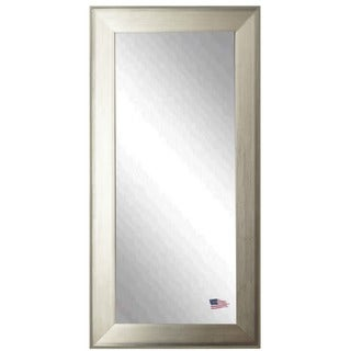 American-made Brushed Silver Tall Mirror