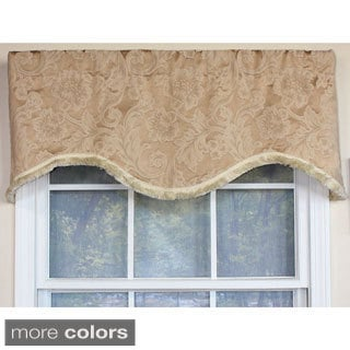 Brocade Cornice Window Valance