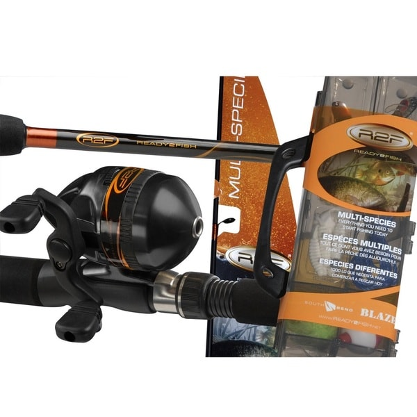 Ready 2 Fish 2 Piece Spin Cst Combo