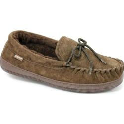 Women's Lamo Moccasin Fleece Chocolate