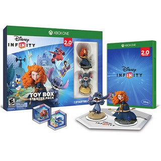 Xbox One - Disney INFINITY 2.0 Toybox Starter Pack 13042928