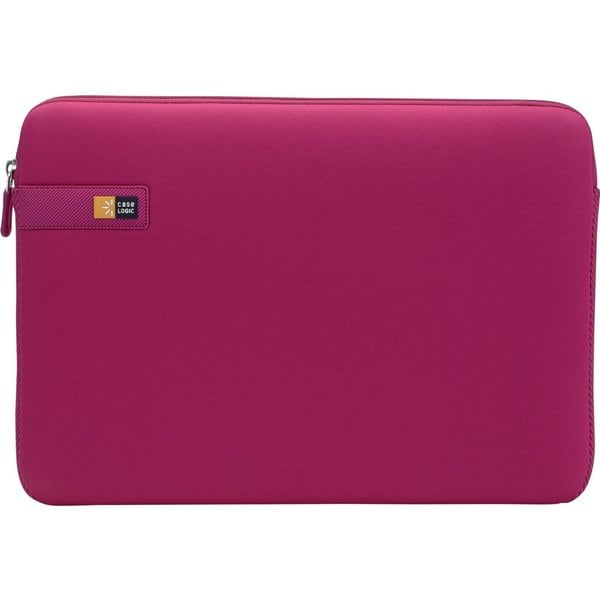 """Case Logic LAPS-114 Carrying Case (Sleeve) for 14.1"""" Notebook - Pink"""