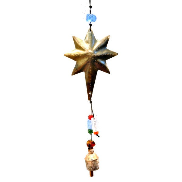 Handmade Star of Beauty Wind Chime (India)