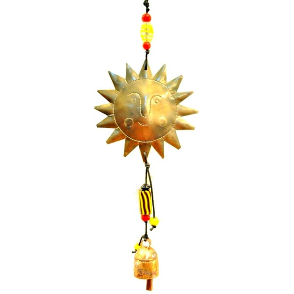 Handmade Follow the Sun Wind Chime (India)