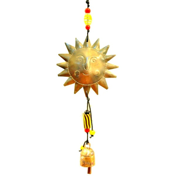 Handmade Follow the Sun Wind Chime (India)