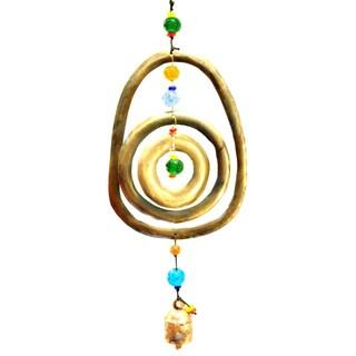 Handmade Circles Wind Chime (India)