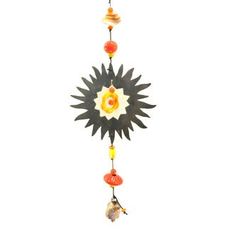 Handmade Rays of Sunshine Wind Chime (India)