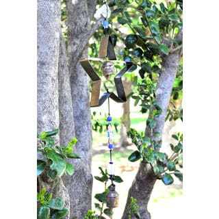 Handmade Metal Star Wind Chime (India)