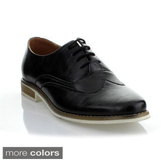 Mikoloti Men's Lace-up Oxfords