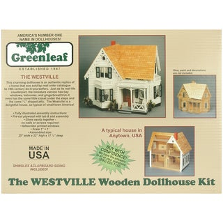 Greenleaf Dollhouse Kit-Westville