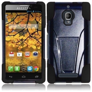 BasAcc Dual Layered Stand Hybrid Cover Case for Alcatel One Touch Fierce 7024W