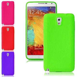 INSTEN Soft Gel Soft Silicone Skin Cover Phone Case Cover for Samsung Galaxy Note 3