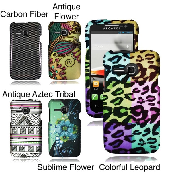 INSTEN Hard Plastic Protective Cover Phone Case Cover for Alcatel One Touch Evolve