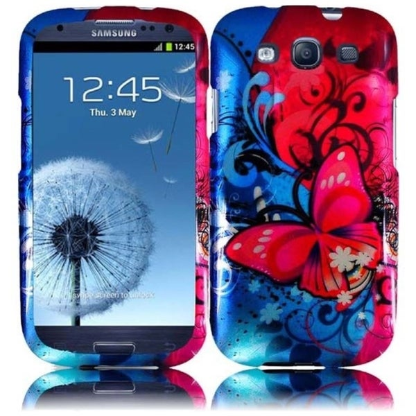 INSTEN Hard Plastic Protective Design Cover Phone Case Cover for Samsung Galaxy S3/ S III