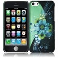 BasAcc Hard Plastic Rubber Coated Rubberized Cover Case for Apple iPhone 5C