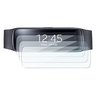 BasAcc Clear Regular Screen Protector Film for Samsung Galaxy Gear Fit (Pack of 3)