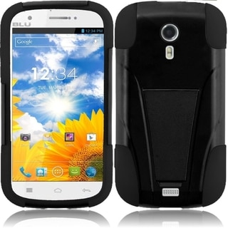 BasAcc Dual Layered Protective Stand Hybrid Cover Case for BLU Studio 5.0