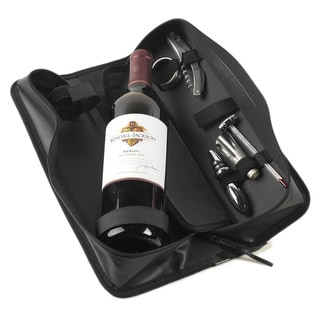 Wine Accessory Zipper Case 5-piece Set