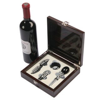 Piano Varnish 5-piece Wine Accessory Set