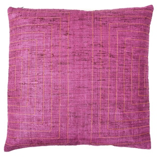 20 x 20-inch Streams Blush Decorative Throw Pillow