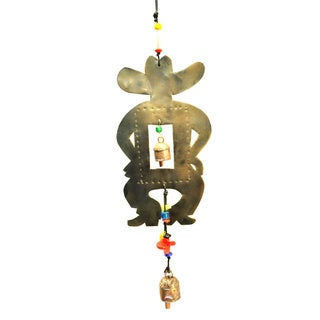 Handmade Howdy Partner Wind Chime (India)