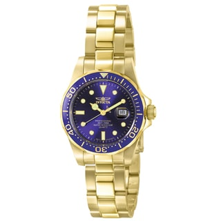 Invicta Women's IN-4870 Stainless Steel 'Pro Diver' Quartz Watch