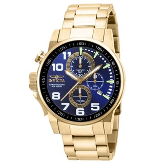 Invicta Men's IN-14959 Stainless Steel 'Force' Chronograph Quartz Watch