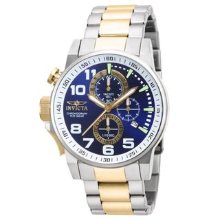 Invicta Men's IN-14960 Stainless Steel 'Force' Chronograph Quartz Watch
