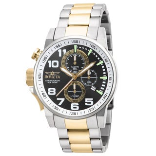 Invicta Men's IN-14961 Stainless Steel 'Force' Chronograph Quartz Watch