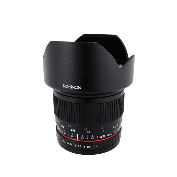 Rokinon 10mm F2.8 Ultra Wide Angle Lens