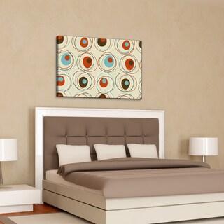Alexis Bueno 'Geometric Study I' Canvas Wall Art