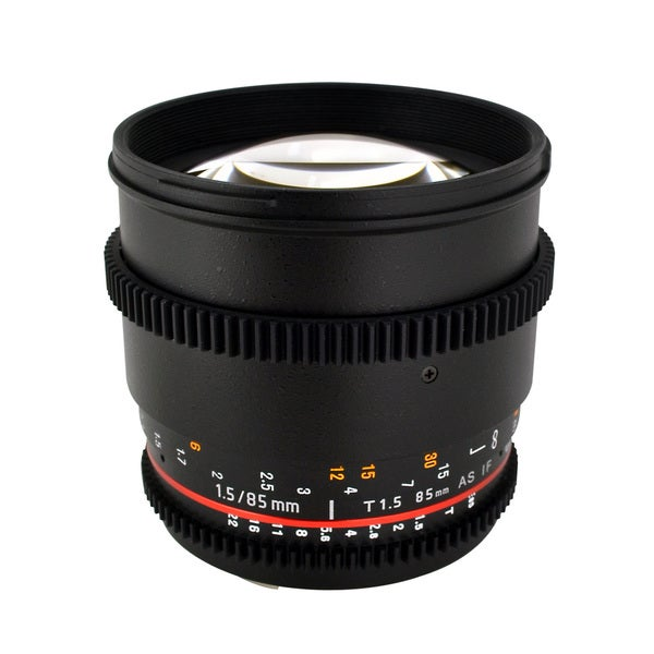 Rokinon 85mm T1.5 Aspherical Lens