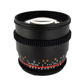 Rokinon 85mm T1.5 Aspherical Lens