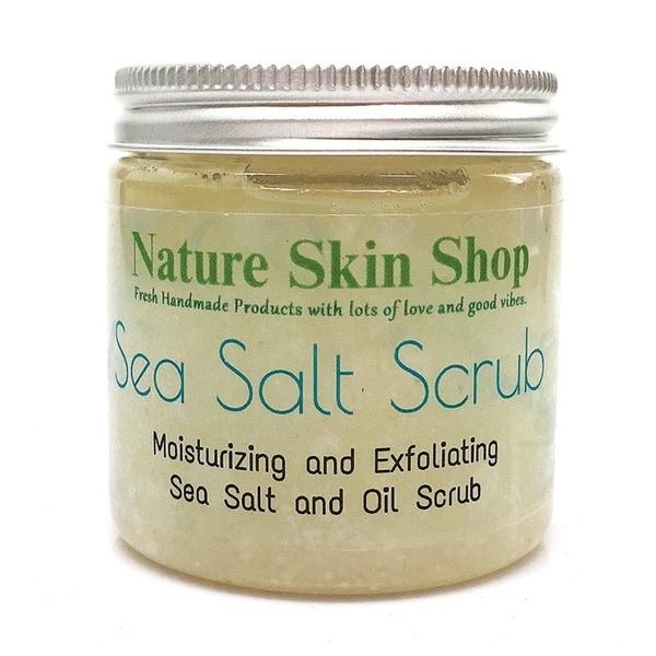Nature Skin Shop Exfoliate and Smoothing Dead Sea Salt and Shea 5 or 10-ounce Scrub