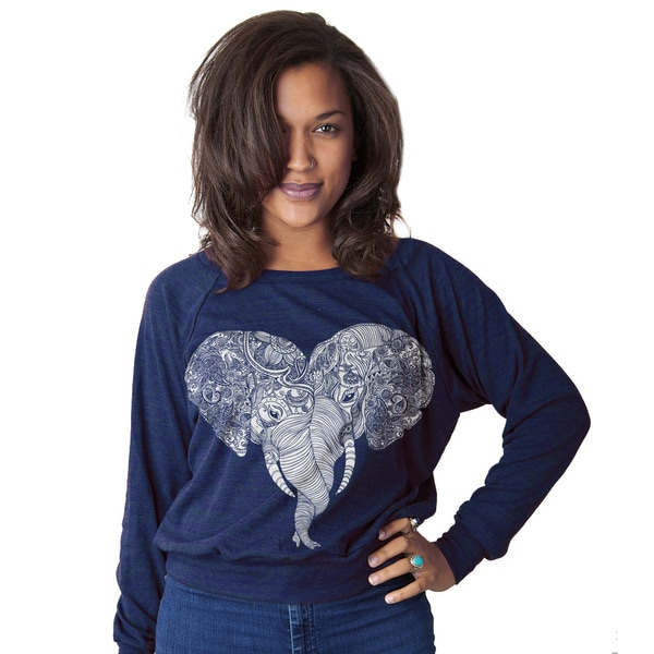 Punch Trunk Love Women's Pullover Long-sleeve Top