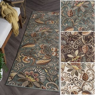 Caprice Transitional Area Rug (2'3 x 7'7)