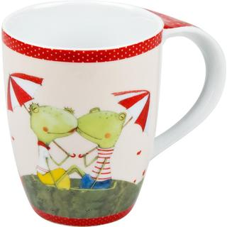 Konitz Frog Couple Mugs (Set of 4)
